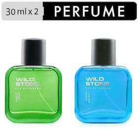 Wild Stone Forest Spice 30 ml and Hydra Energy Perfume 30 ml Combo for Men (Pack of 2)