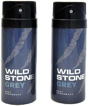 Wild Stone Grey Deodorant (Pack Of 2)