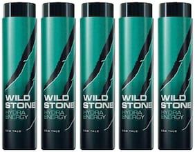 Wild Stone Hydra Energy Talcum For Men;Pack of 5 (100g each)