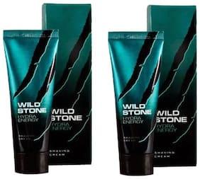 Wild Stone Hydra Energy Shaving Cream For Men 70 g (Pack Of 2)
