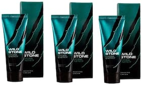Wild Stone Hydra Energy Shaving Cream For Men 70 g (Pack Of 3)