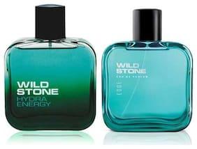 Wild Stone Hydra Energy and Edge EDP For men 100ml (Pack of 2)