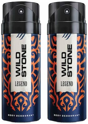 Wild Stone Legend Deodorant (Pack Of 2)