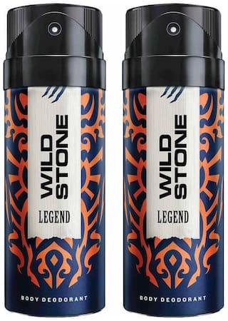 Wild Stone Legend Deodorant (Pack Of 2)