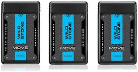 Wild Stone Move Charge Pocket Perfumes For Men - 18 ml each (Pack of 3)