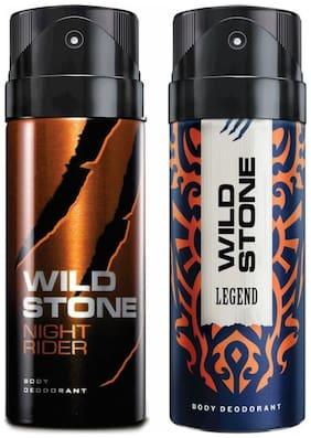 Wild Stone Night Rider & Legend Deodorant (Pack Of 2)