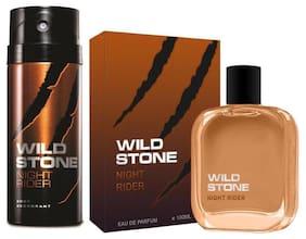 Wild Stone Night Rider Combo - ( Deo And Edp 100 Ml) - (Pack of 2)
