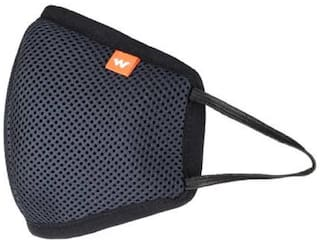 Wildcraft W95 HYPASHIELD Reusable and Washable 6 Ply Mask (Pack of 1)