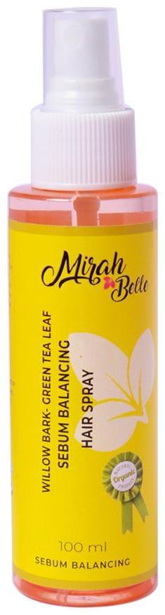 Willow Bark  Green Tea Leaf Sebum Balancing Hair Spray