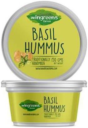 Wingreens Basil Hummus 150gm