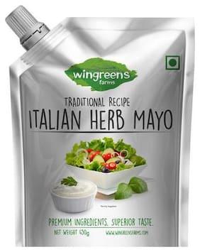 Wingreens Farms Mayo - Italian Herb 450 gm