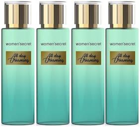 Womens Secret All Day Dreaming Deodorant Spray 100 ml (Pack Of 4)
