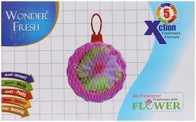 WONDER FRESH AIR FRESHENER FLOWER 60GM - PACK OF 12 (6 + 6 FREE)