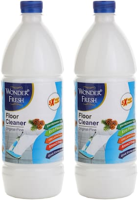 Wonder Fresh White Phenyl 1 L - Pack Of 2