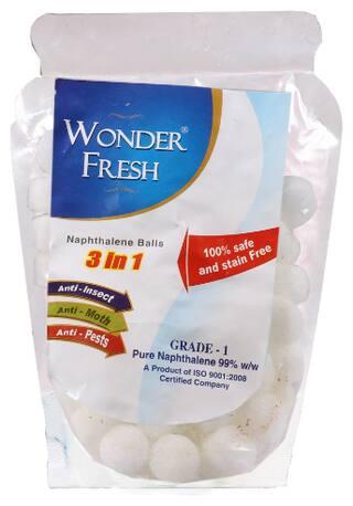 Wonder Fresh Naphthalene Balls 500 g (Pack of 1)