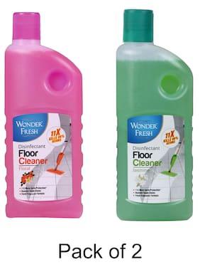 Wonder Fresh Floor Cleaner Jasmine 500 ml & Floral 500 ml (Pack of 2)