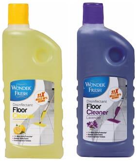 Wonder Fresh Floor Cleaner Lemon 500 ml and Lavender 500 ml (Pack of 2)