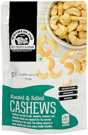 Wonderland Roasted & Salted Cashew 100g