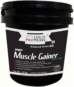 World of Proteins Muscle Gainer 10 lbs Chocolate