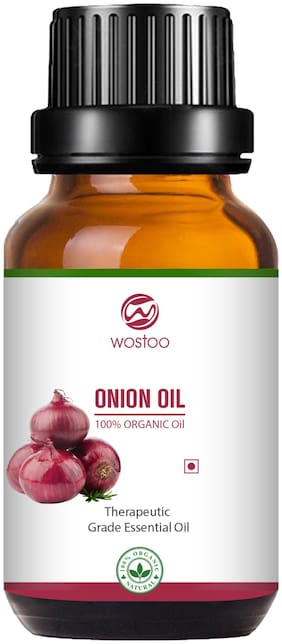 Wostoo Best Onion Oil for Hair Growth - Red Onion Extract with and essential oils (10 ml)