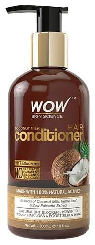 Wow Skin Science Coconut Milk Conditioner - DHT Blockers 300 ml