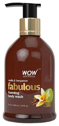 Wow Skin Science Bergamot & Vanilla Foaming Body Wash 300 ml