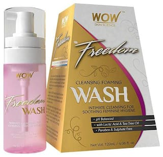 Wow Skin Science F&G Freedom Cleansing Foaming Wash 120 ml