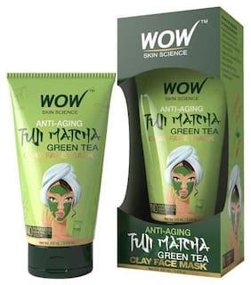 Wow Skin Science Anti-Aging Fuji Matcha Green Tea Clay Face Mask 100 ml