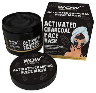Wow Skin Science Activated Charcoal Face Mask 200 ml