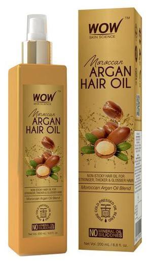 Wow Skin Science  Moroccan Argan Hair Oil 200 ml
