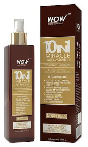 Wow Skin Science 10-in-1 Miracle Hair Revitalizer 200 ml