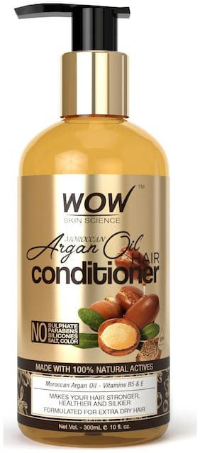 Wow Skin Science Moroccan Argan Oil Conditioner 300ml