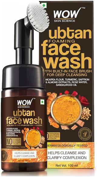 WOW Skin Science Ubtan Foaming Face Wash 100ml