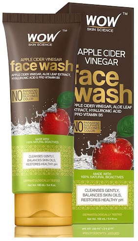 WOW Skin Science Apple Cider Vinegar Face Wash 100ml