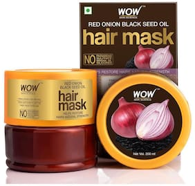 Wow Skin Science Red Onion Black Seed Oil Hair Mask - 200 ml