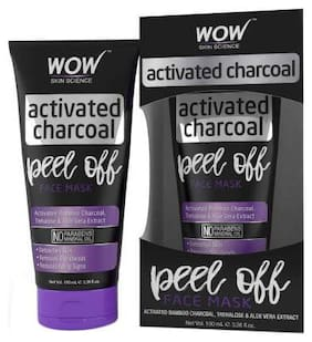 WOW Skin Science Activated Charcoal Face Mask - Peel Off 100ml