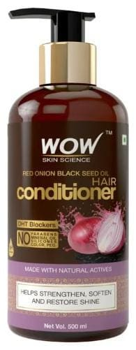 WOW Skin Science Red Onion Black Seed Oil Shampoo - 500ml