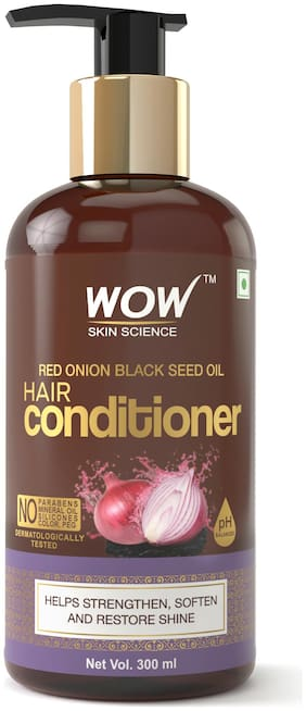 Wow Skin Science Onion Black Seed Oil Hair Conditioner 300 ml