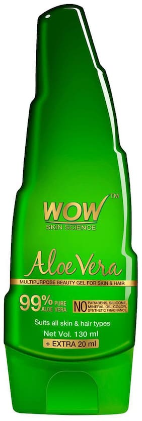 WOW Skin Science Aloe Vera Gel - 130 ml