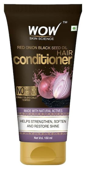 WOW Skin Science Red Onion Black Seed Oil Hair Conditioner Tube - 150ml