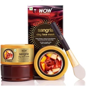 WOW Skin Science Sangria Face Mask for Energizing Dull;Tired;Patchy Skin 200 ml (Pack Of 1)