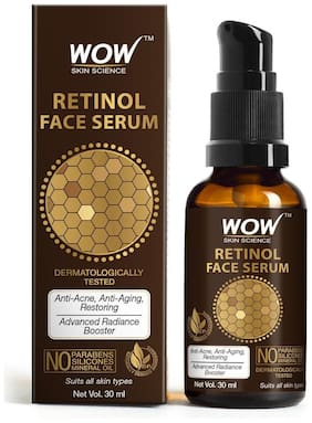 WOW Skin Science Retinol Face Serum 30ml (Pack of 1)