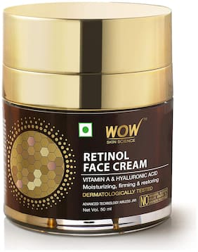 WOW Skin Science Retinol Face Cream 50ml