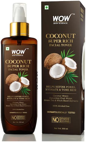 WOW Skin Science Coconut Super Rich Facial Toner for Hydrating & Toning Skin 200ml