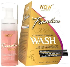 WOW Skin Science F&G Freedom Cleansing Foam Wash - 120 ml