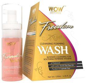 WOW Skin Science F&G Freedom Cleansing Foam Wash - 120 ml