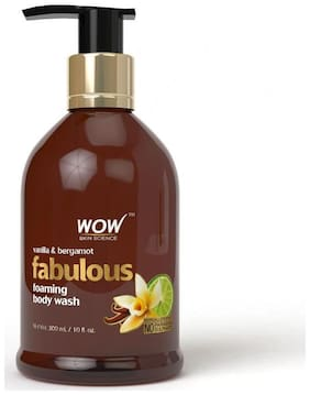 WOW Skin science Bergamot & Vanilla Foaming Body Wash - 300 ml