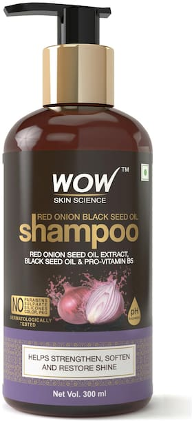 Wow Skin Science Onion Black Seed Oil Shampoo 300 ml