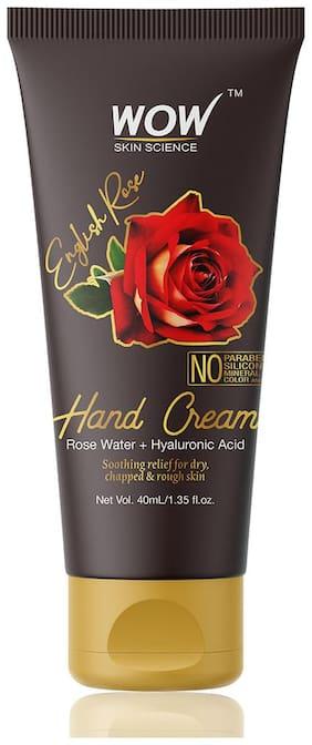 Wow Skin Science English Rose Gentle Hand Cream 40ml