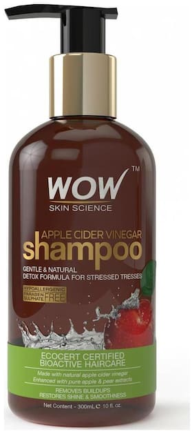 Wow Skin Science Apple Cider Vinegar Shampoo - 300 ml